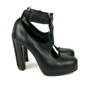 & Other Stories Leather Mary Jane Chunky Strap